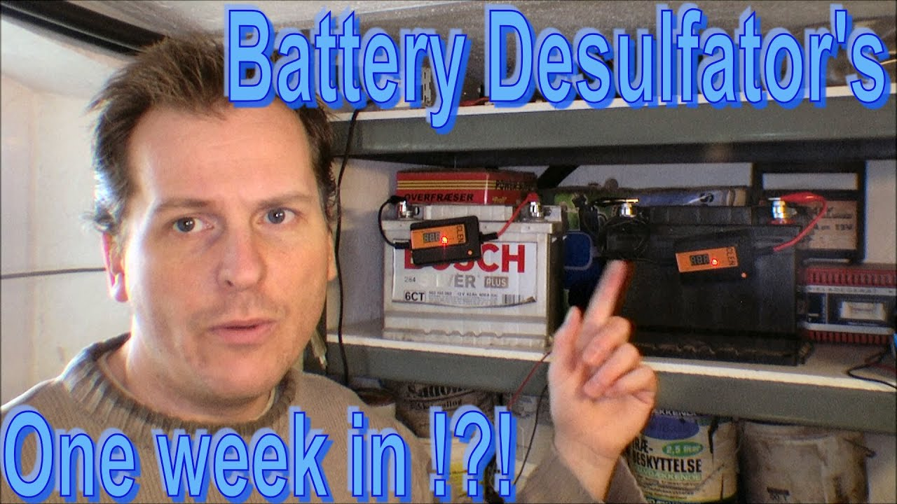 Desulfator Circuit Images Frompo Battery Desulfators After One Week Update 173 Youtube