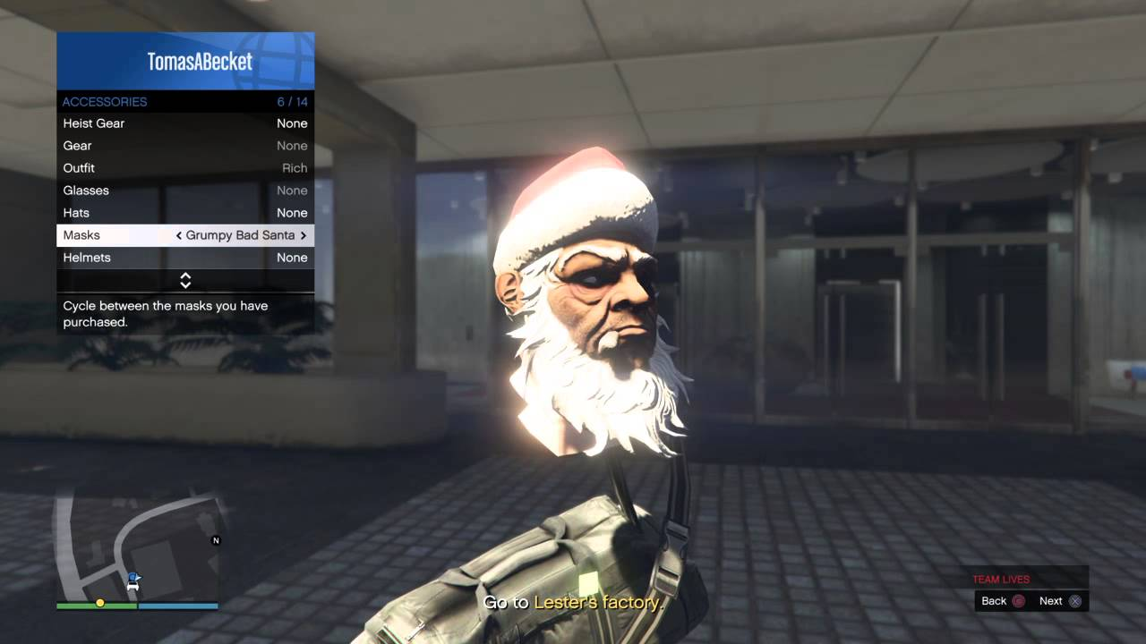 Gta 5 Online All Christmas Masks.Gta 5 How To Get Christmas Masks 1 32