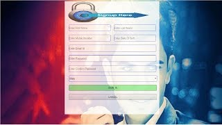 how to create a registration form  design in asp.net