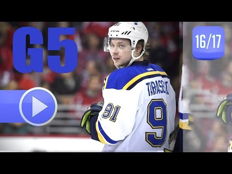 St. Louis Blues vs Minnesota Wild. 2017 NHL Playoffs. Round 1. Game 5. April 22nd, 2017. (HD)