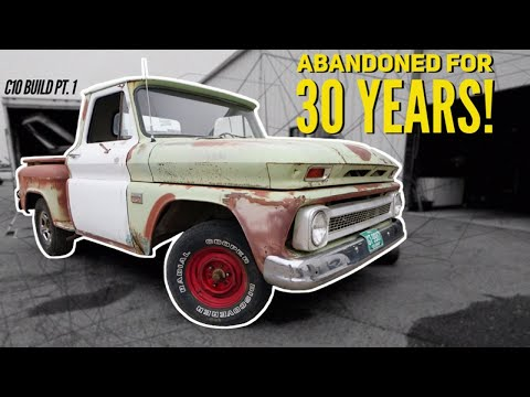 Pt.1 Chevy C10 Build – My Next big project! – ABANDONED RUST?