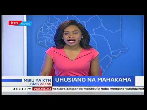 Rais Uhuru Kenyatta apongeza idara ya mahakama: Mbiu ya KTN