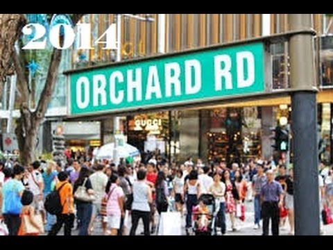 Orchard Road Singapore 2014
