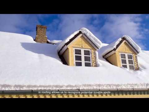 Winter Roof Replacement Casper WY   Casper Storm Damage Repair