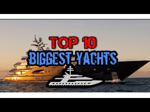 top 10 der gr ten yachten der welt top 10 of the biggest yachts youtube. Black Bedroom Furniture Sets. Home Design Ideas