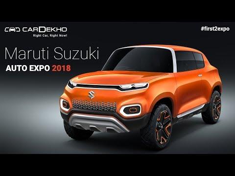 Maruti Suzuki Future-S at Auto Expo 2018 | Future-S