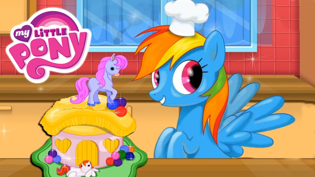 MLP My Little Pony Friendship is Magic Rainbow Dash Birthday Cake
