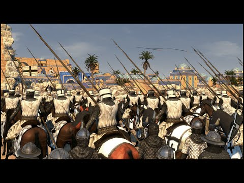 CRUSADER DESERT SIEGE - Medieval Kingdoms Total War 1212AD Mod Gameplay