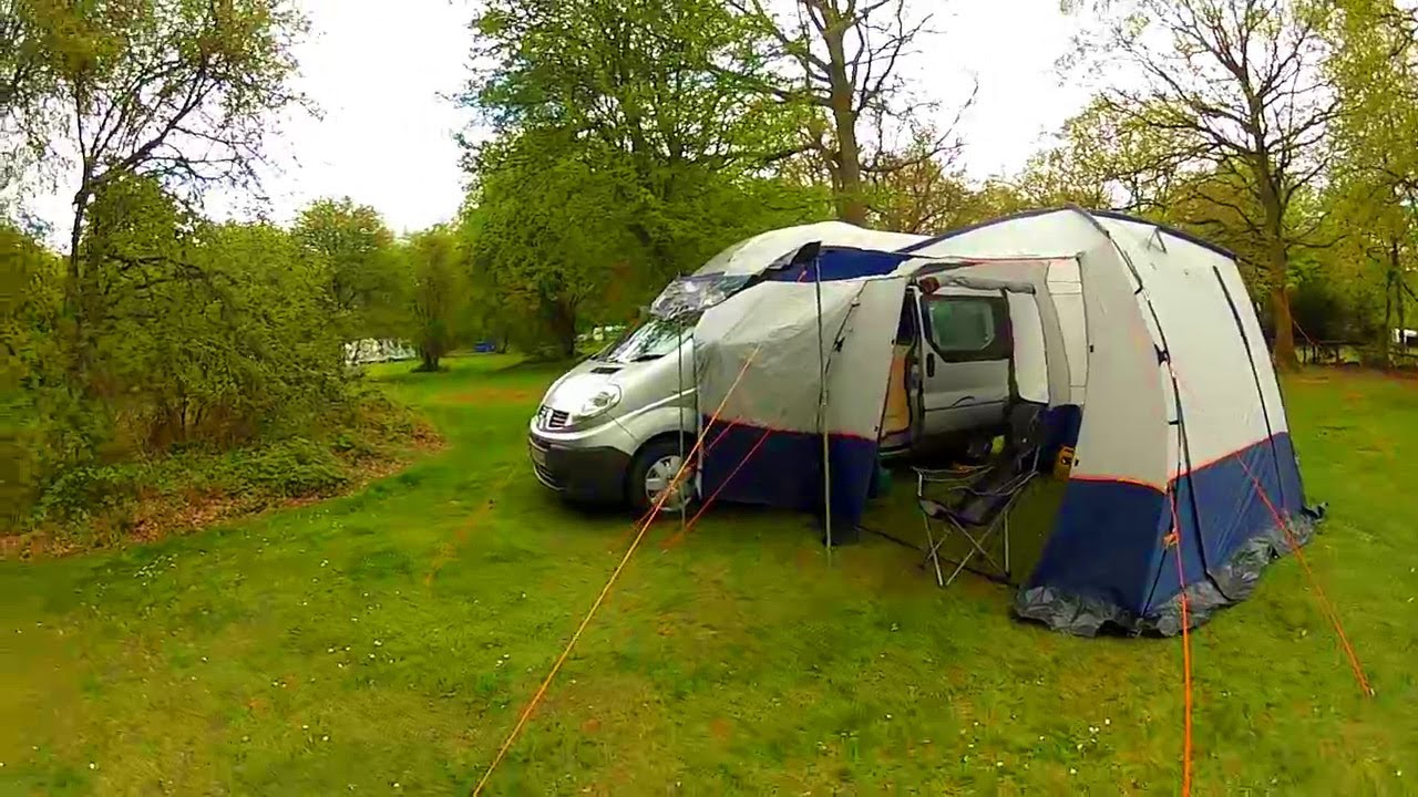Van Shakedown on its First C&ing Trip - Self Build Motorhome C&er van - YouTube : motorhome tent - memphite.com