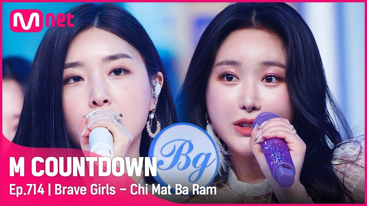 [Brave Girls - Chi Mat Ba Ram] Comeback Stage | #엠카운트다운 EP.714 | Mnet 210617 방송