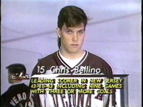 NJ HS Hockey 1992 Verona vs. Livingston from SMA on Suburban Cable TV3