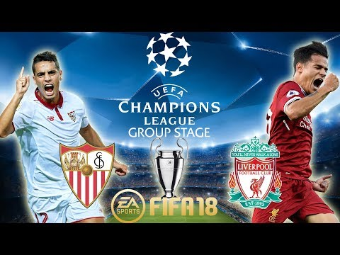 FIFA 18 Sevilla vs Liverpool | Champions League Group Stage 2017/18 | PS4 Full Match
