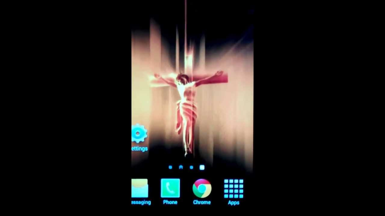 hd jesus cross 3d android live wallpaper youtube