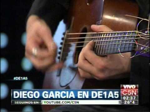 C5N - MUSICA EN VIVO:  DIEGO GARCIA EN DE1A5