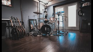 Building An EPIC HOME STUDIO In 7 Days (Studio Tour)