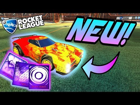Rocket League NEW MYSTERY DECALS: Trigon, Chameleon, Storm Watch (Victory Crate Black Market Update)