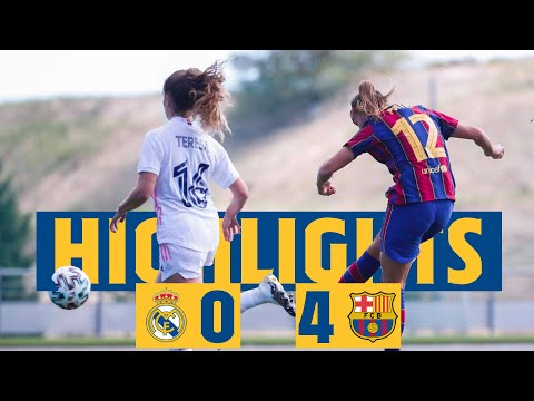 HIGHLIGHTS | Real Madrid 0 - FC Barcelona 4