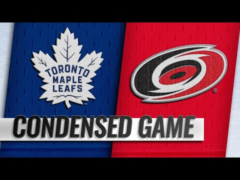 11/21/18 Condensed Game: Maple Leafs @ Hurricanes