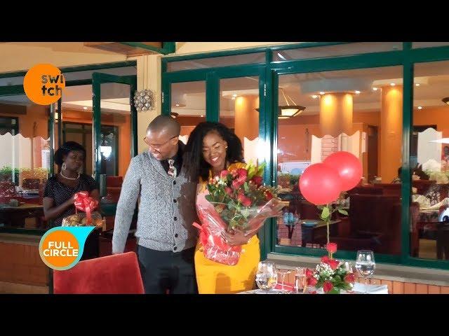 Waihiga Mwaura's Valentine surprise for his wife, Joyce Omondi