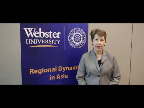 International Relations Experts Gather At Webster Thailand