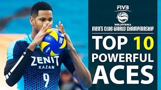 TOP 10 » Powerful ACES / Monster KILL ACES / Club World Championship 2017 (HD)