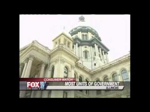 Fox Illinois: Illinois has most units of government in the country