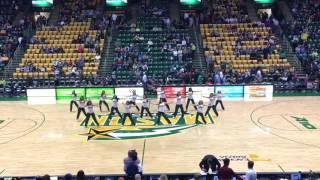 masonettes dance team 11 12 16 halftime