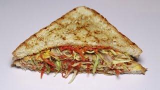 10 minutes Recipe,Quick & Easy Breakfast Recipe(Veg Omelette Sandwich)