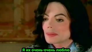 Michael Jackson 60 Minutes Interview With Ed Bradley 2003 - RUS_SUB
