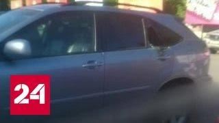Жители Томска спасли младенца, разбив стекло