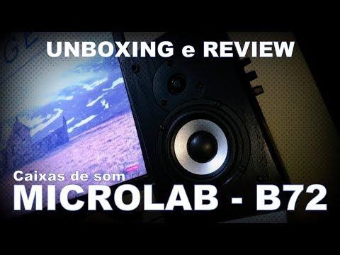 Caixas de Som Multimídia Microlab - B72 | Unboxing e Review
