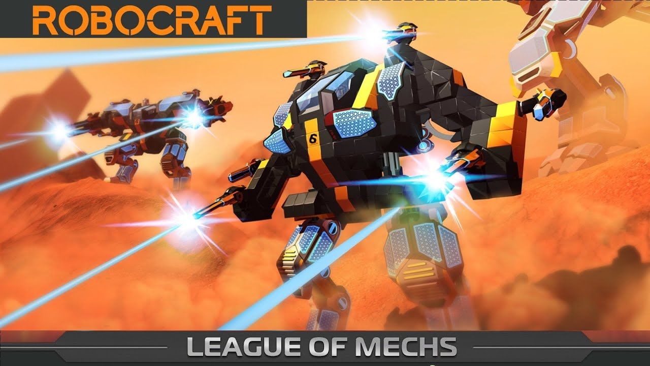 Robocraft! - My Mech's so far... - YouTube