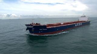 New Bulk carrier, RBD Italia film by Singapore aerial photographer Tommy Chia & crew.