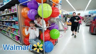 BEST HIDE AND SEEK SPOT IN WALMART! (KICKED OUT)