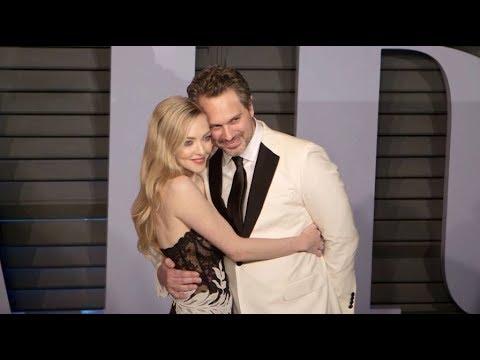 Amanda Seyfried and Thomas Sadoski on the Red Carpet for the 2018 Vanity Fair Oscar Part