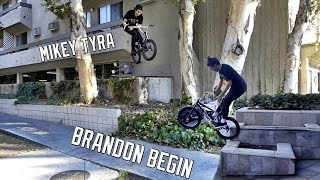 MIKEY TYRA AND BRANDON BEGIN HAVE NO CHILL!!!