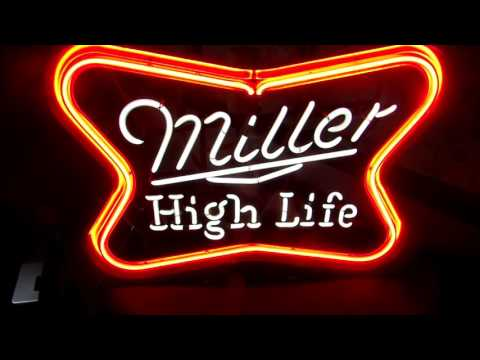 Miller High Life vintage neon sign for sale on Ebay!
