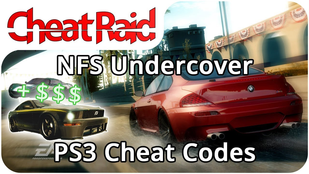 need for speed undercover cheat codes ps3 youtube. Black Bedroom Furniture Sets. Home Design Ideas