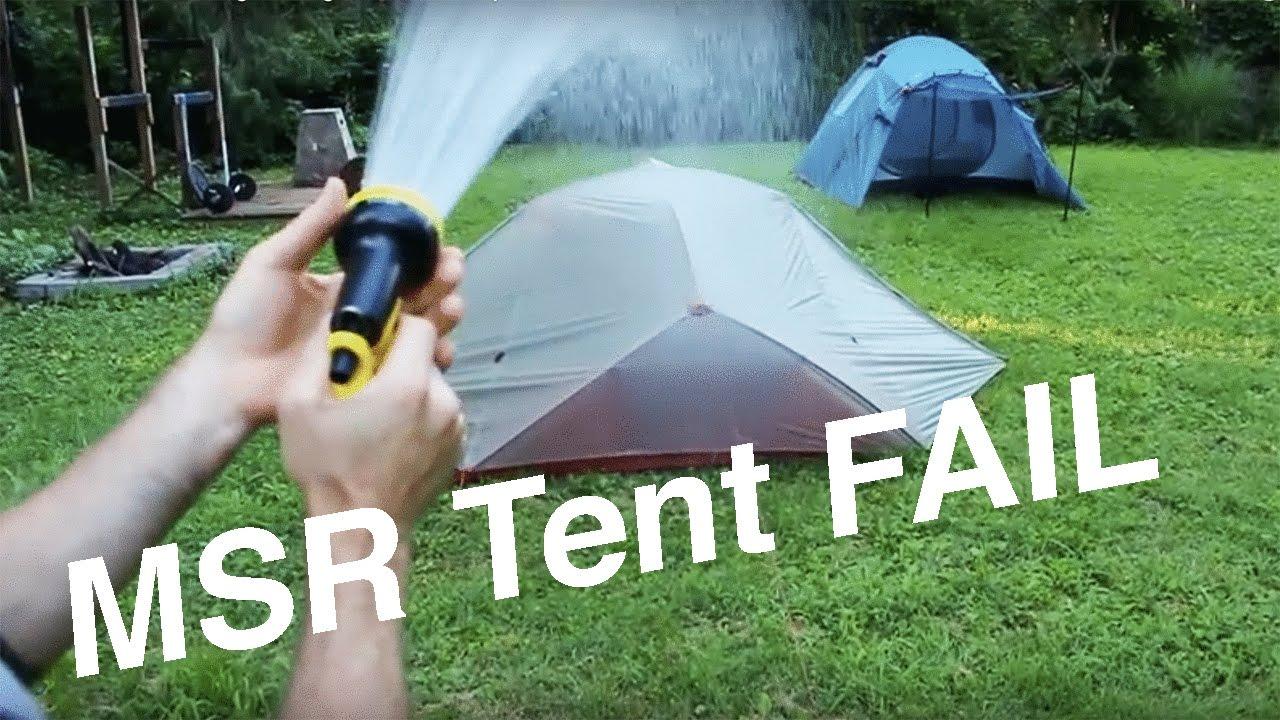 MSR FreeLite 3 Lightweight Tent Setup u0026 FULL RAIN TEST & MSR FreeLite 3 Lightweight Tent Setup u0026 FULL RAIN TEST - YouTube