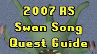 Oldschool Runescape Swan Song Quest Guide