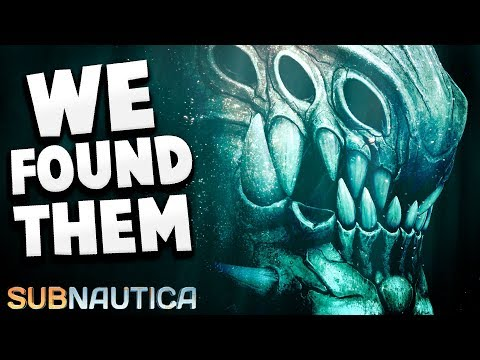Subnautica - WE FOUND THEM...THE ANCIENT PREDATORS WERE DOWN HERE - Subnautica Full Release Gameplay
