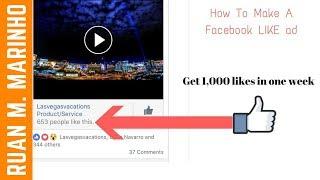 Facebook Fanpage Likes Hack - Get 1,000 Likes In One Week