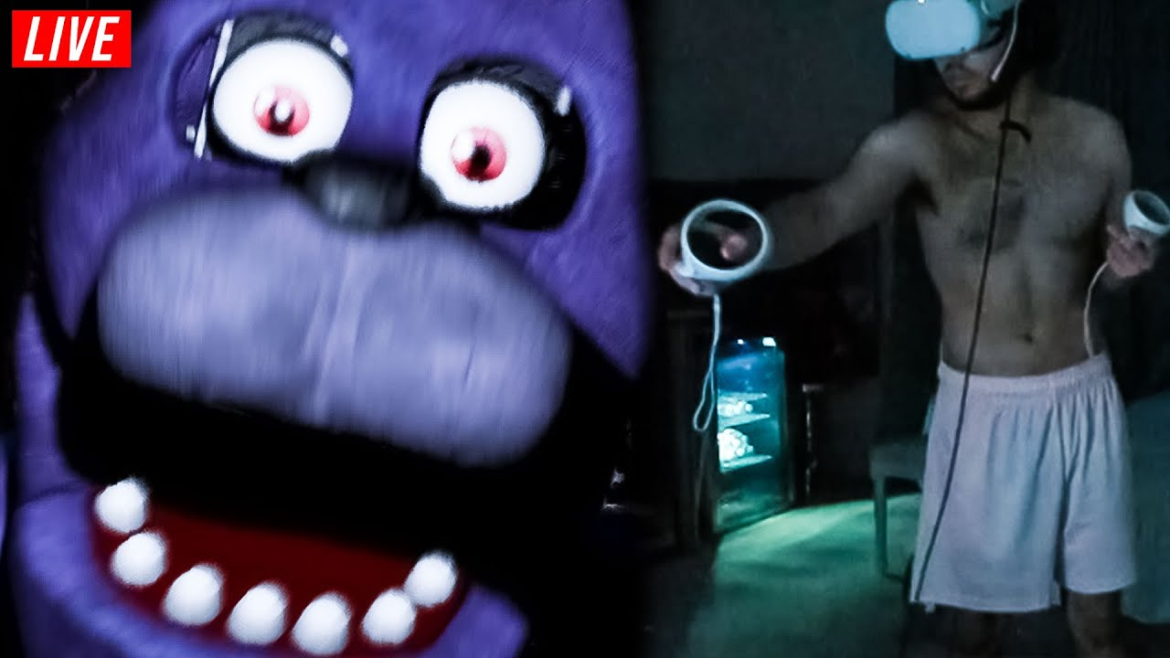 Adin FREAKS OUT While playing FIVE NIGHTS AT FREDDY'S... *EXTREMELY FUNNY*