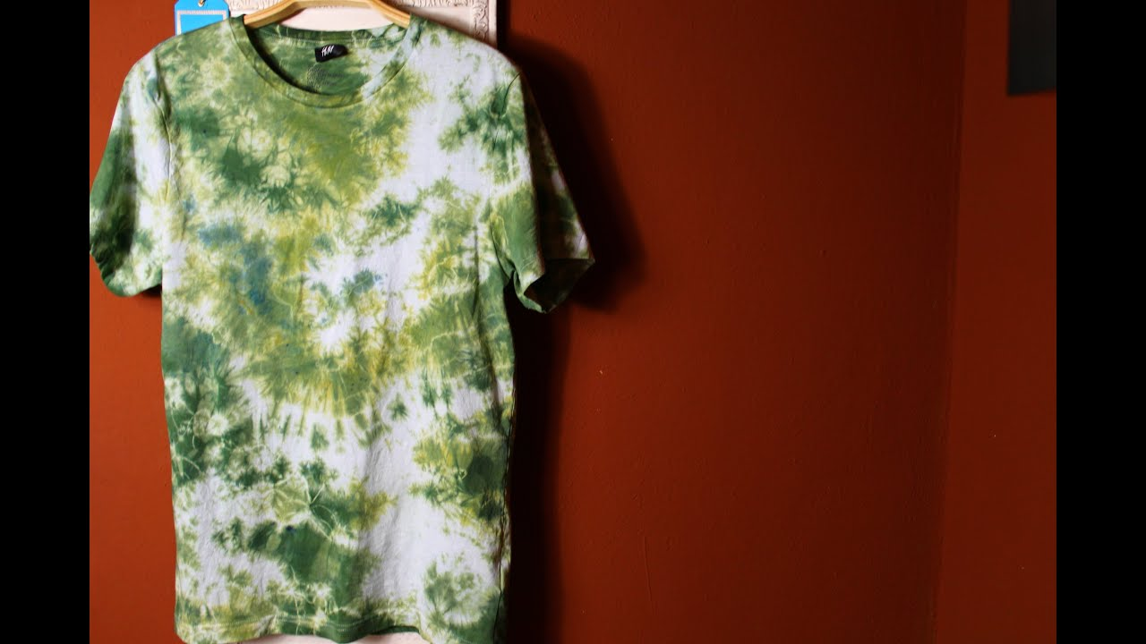 DIY Tie Dye Batik Shirt How to - YouTube