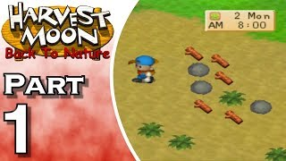 Gambar cover Let's Play Harvest Moon: Back to Nature (Gameplay + Walkthrough) Part 1