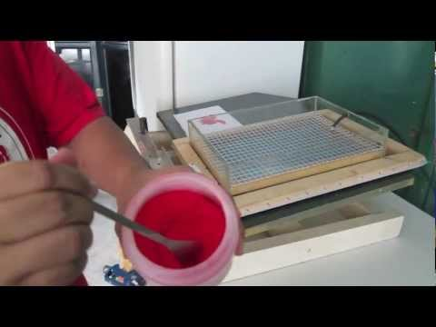Flock Printing Machine (Keenworth International Corporation)