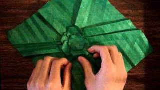 Extreme Speed Origami Tessellation (time Lapse)