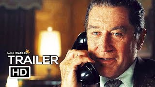 THE IRISHMAN Final Trailer (2019) Robert De Niro, Al Pacino Movie HD