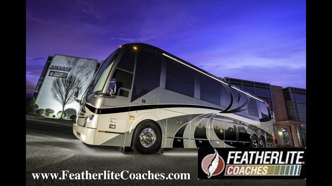Featherlite Prevost Conversion Bus `Biscayne` Triple Slide
