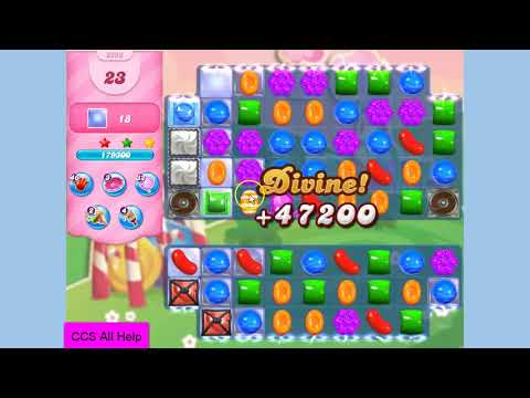 Candy Crush Saga Level 3253 NO BOOSTERS Cookie